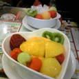 マンゴーとココナッツ&ナタデココのデザート