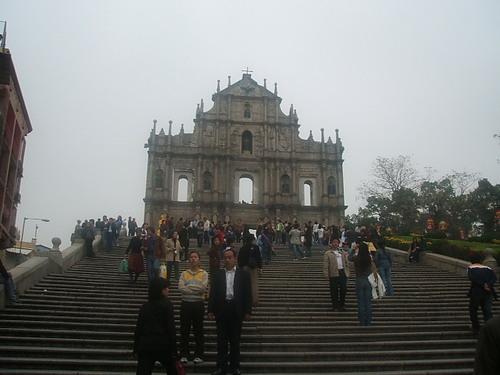 聖ポール天主堂全景