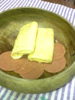 陳意齋のお茶菓子