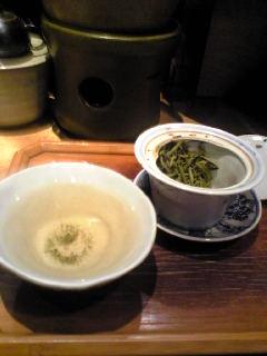 京都で中国茶をいただきました。