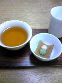 京菓子は中国茶に合う。