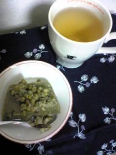 緑豆の翡翠かんを作ってみた。