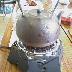 毎夏恒例中国茶会。