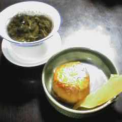 真夏の中国茶道楽