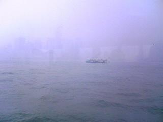 香港、霧の週末